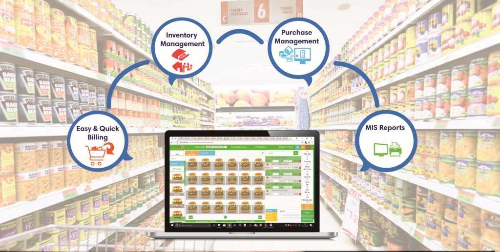 Supermarket Grocery POS  Billing Software